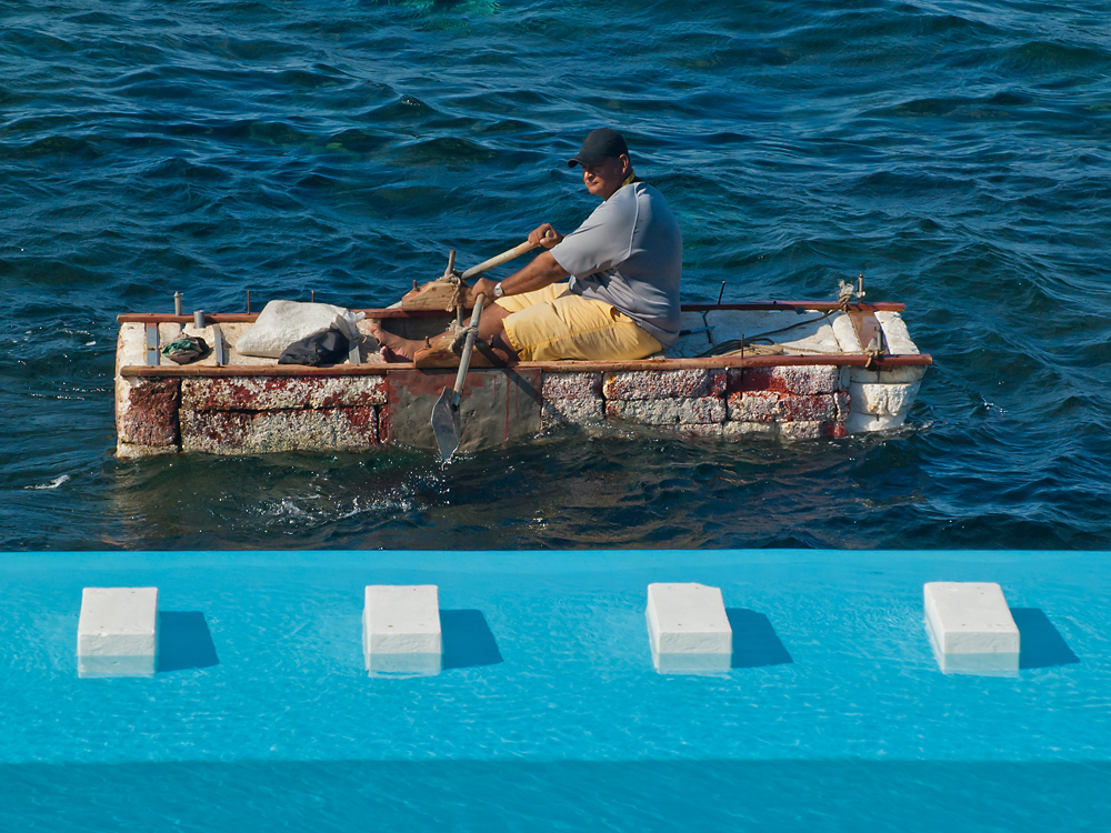 Do-It-Yourself Boat made by styrofoam