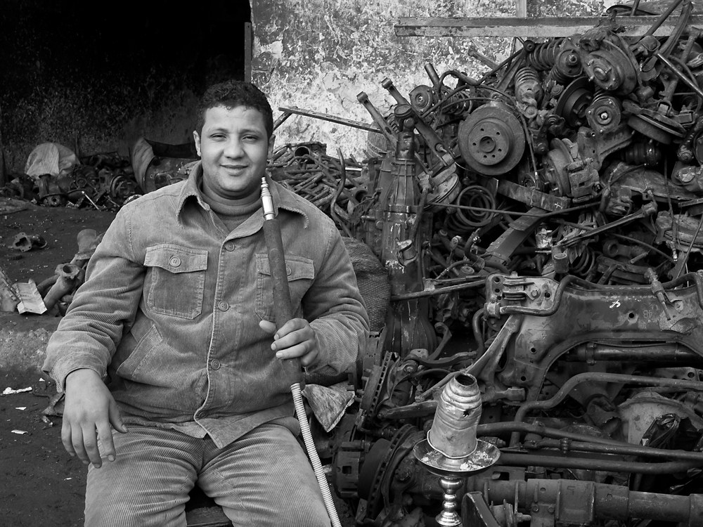 Cairo - scrap metal merchant I