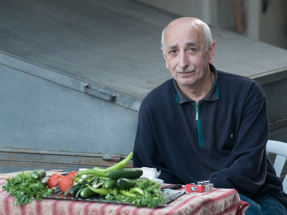 Istanbul - greengrocer